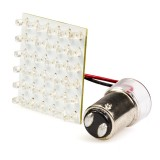 1142-PCB-W36: 1142 LED Bulb - Single Intensity Dual Contact 36 LED PCB Lamp