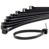 CT-B: Black Cable Ties - 10 Pack