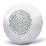 TDLS-W91: 5.5 Watt Round Dome Light LED Fixture with 3 Position Switch