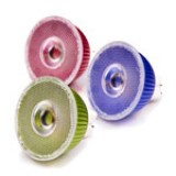 MR16-x3W: Color 3 Watt LED MR16 bulb