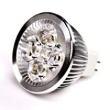 MR16-xW4W-x: 4 Watt MR16 LED bulb