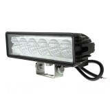 "ORB-18WS-35: 8"" Heavy Duty Off Road LED Light Bar - 18W"