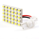 UPCB-xWHP30-T3.25: 30 High Power LED Rectangle PCB Lamp w/ Wedge Base