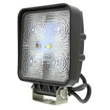 WL-15W-Sx: 4&quot; Square 15W Heavy Duty High Powered LED Work Light