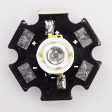 IR-1WS-850: 315mW 850nm Infrared LED w/ Star Heatsink