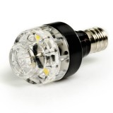 E12-NWHP2:  Candelabra Base Bulb, 2 Natural White LEDs